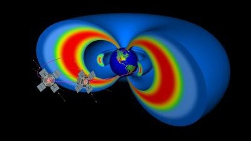The two RBSP spacecraft will help study the Van Allen Radiation belts that surround Earth.