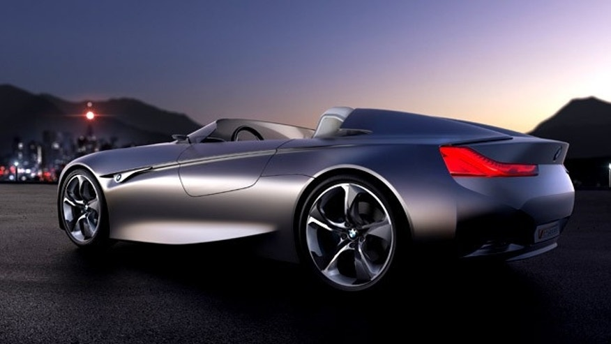The BMW Vision ConnectedDrive concept car knows its surrounds and can communicate with other cars -- and even passing buildings.