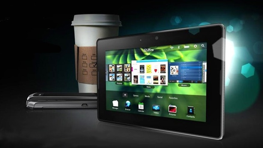 The Blackberry Playbook, one of a fleet of tablet computers unveiled at this year's 2011 Consumer Electronics Show (CES).