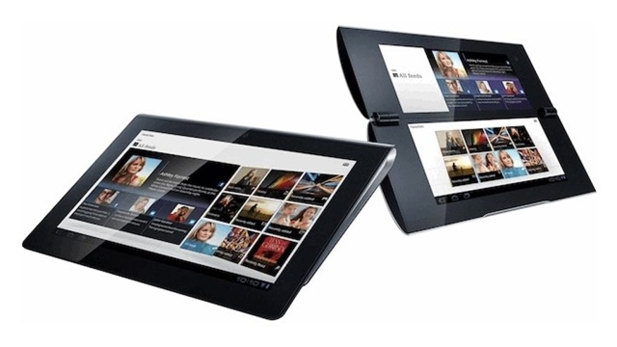 Sony's new S1 and S2 tablet computers