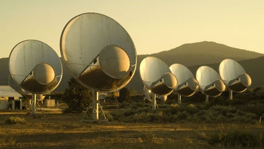 The Allen Telescope Array -- a large number of small satellite dishes designed to add the search for extraterrestrial intelligence.