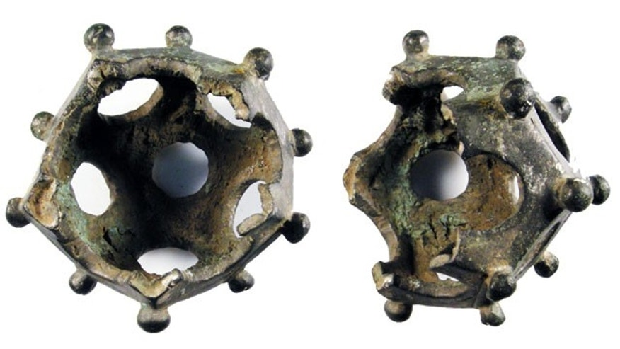 "Mysterious, 12-sizeds geometric objects known only as ""Roman dodecahedrons"" have long mystified archaeologists."