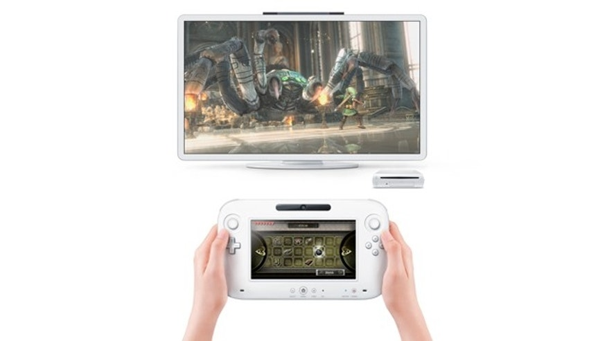 Nintendo joins the tablet craze -- sort of -- with a new touchscreen game console called the Wii U.