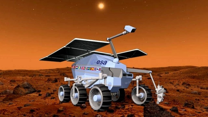 The European Space Agency's ExoMars rover will visit the red planet by 2016, to study the environment conditions -- and hopefully see signs of life.
