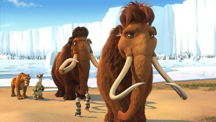 "In the 2002 movie ""Ice Age,"" a trio of Paleolithic mammals attempts an icy trek to return a lost baby."