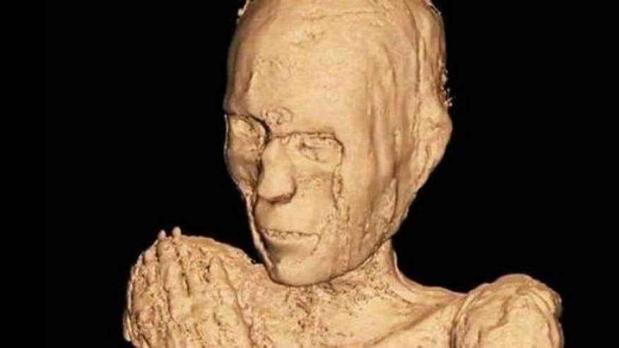 CT scans of suggest this mummy was a male who died at age 40 (a relatively mature age by ancient Egyptian standards), and lived in Lower Egypt sometime between the 20th and 26th dynasties.