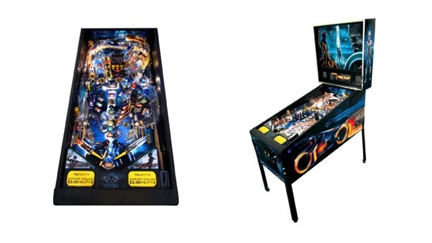 Stern Pinball's TRON: Legacy Pinball features an incredible 3D backglass that brings the film's characters and story to life.