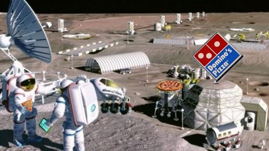 Pizza on the moon? Domino's wants to make it happen.