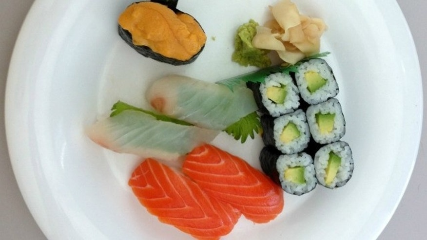 Does this innocuous looking sushi shot reveal secrets about Apple's upcoming iPhone 5?