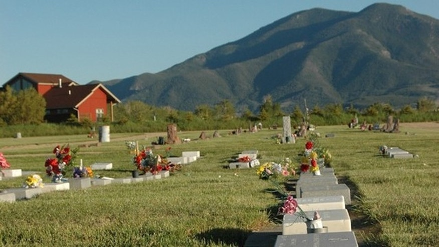 A cemetery in Red Lodge, Montana.