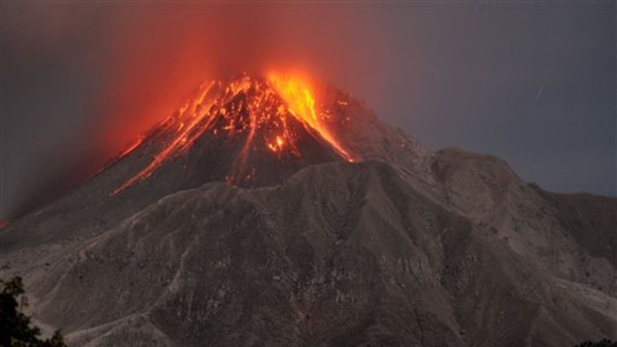 Jan. 23, 2010: The Soufriere Hills volcano erupts in the Caribbean island of Montserrat.