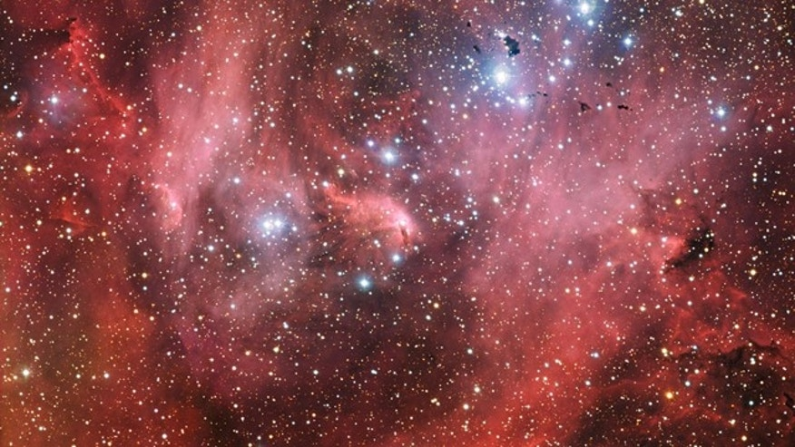 A new image from the European Southern Observatory shows the Running Chicken Nebula, a cloud of gas and newborn stars that lies 6,500 light years from us in the constellation of Centaurus.