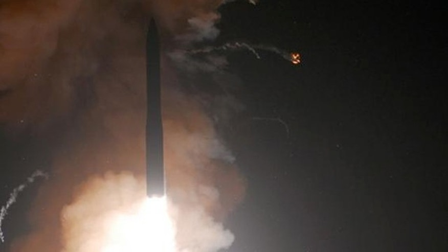A Minuteman III intercontinental ballistic missile launches on June 16, 2010, from Vandenberg Air Force Base, Calif.