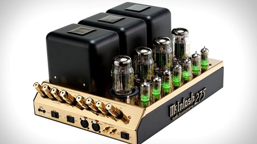Legendary audiophile supplier McIntosh Laboratory is celebrating the golden anniversary of its MC275 Amplifier with a gold-plated limited edition version of the tube amp.