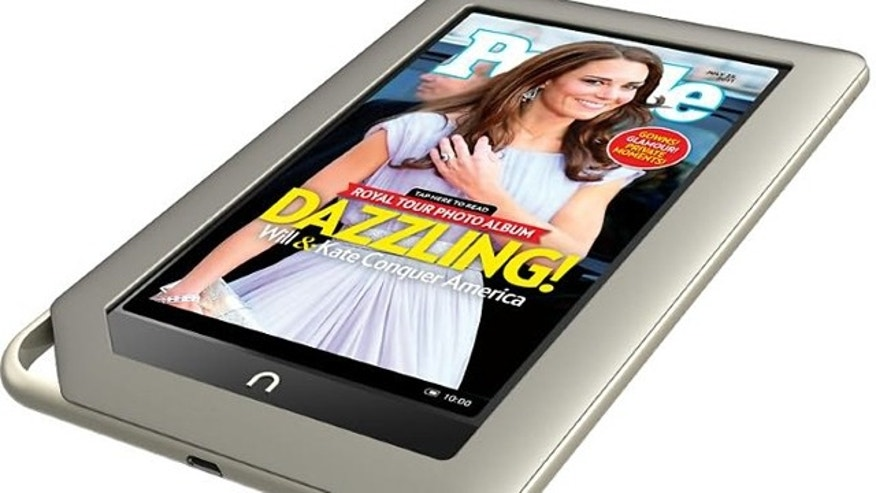 Nov. 7, 2011: Barnes & Noble introduced its first ever tablet -- the aptly named $249 Nook Tablet -- which will compete with Amazon.com and Apple for holiday sales.