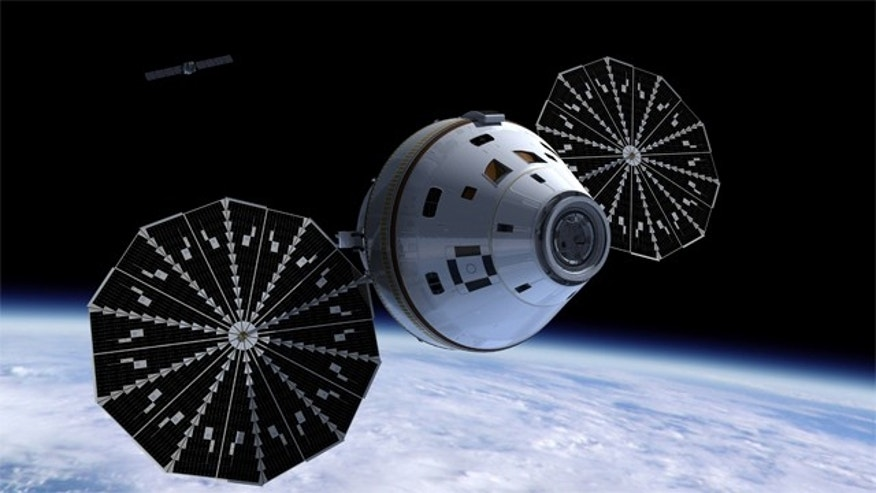NASA plans to add an unmanned flight test of the Orion spacecraft.