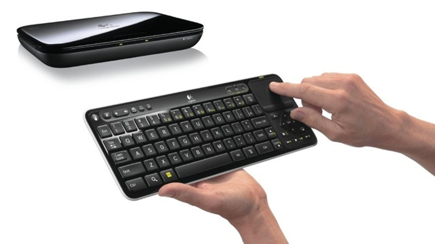 Logitech has uvneiled the Revue, the first device to feature the Google TV interface.
