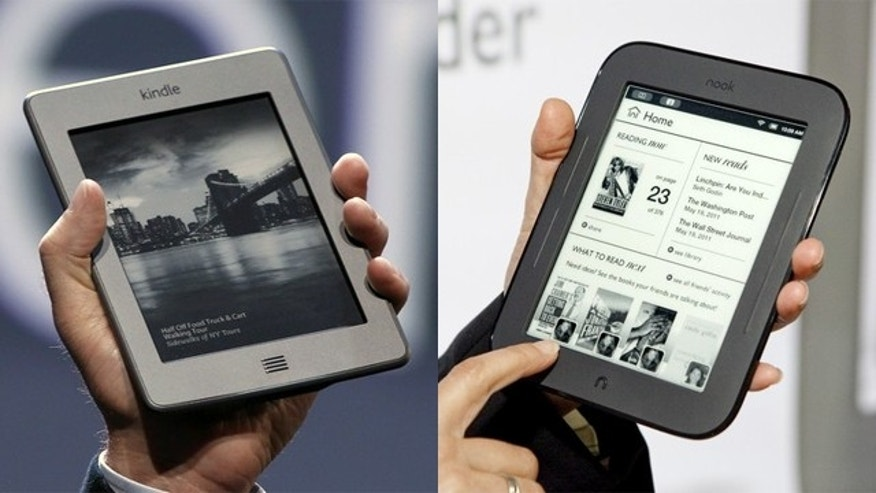 Will your next e-reader be Amazon's Kindle or Barnes & Noble's Nook?