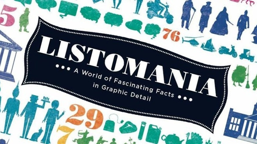 LISTOMANIA: A World of Fascinating Facts in Graphic Detail