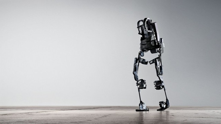 This robotic exoskeleton -- developed by the defense department to create supersoldiers -- could allow the paralyzed to walk.