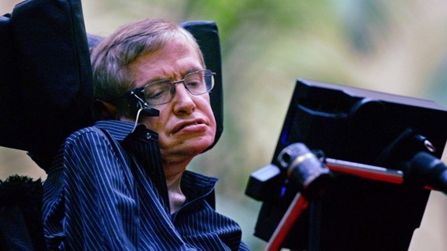 Deteriorating nerves in Hawking's face mean his rate of speech has slowed significantly.