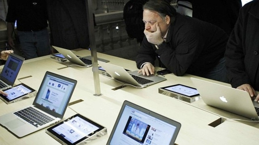 Apple products are becoming increasingly common at the workplace.
