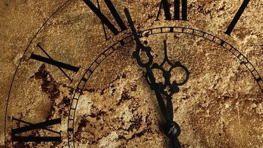 "The Bulletin of the Atomic Scientists' ""Doomsday Clock"" is set at 6 minutes to midnight but may tick forward or backward on Jan. 10, 2012."