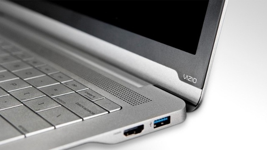 New offerings like these 'ultrabooks' from Vizio are fueling a resurgence in the laptop PC.