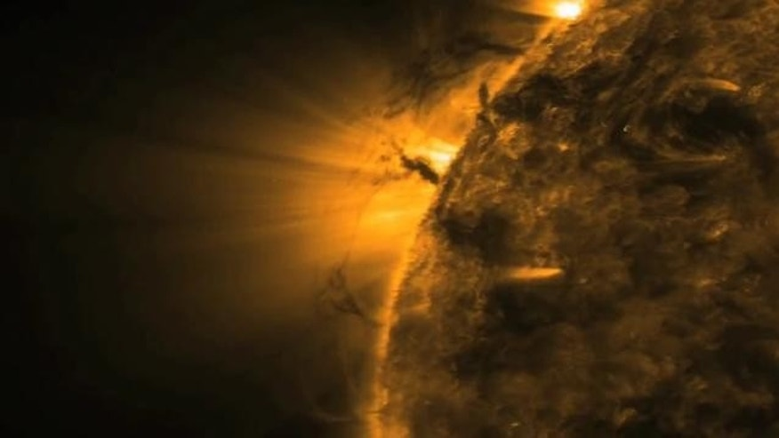 sun tornado captured by nasa - photo #12