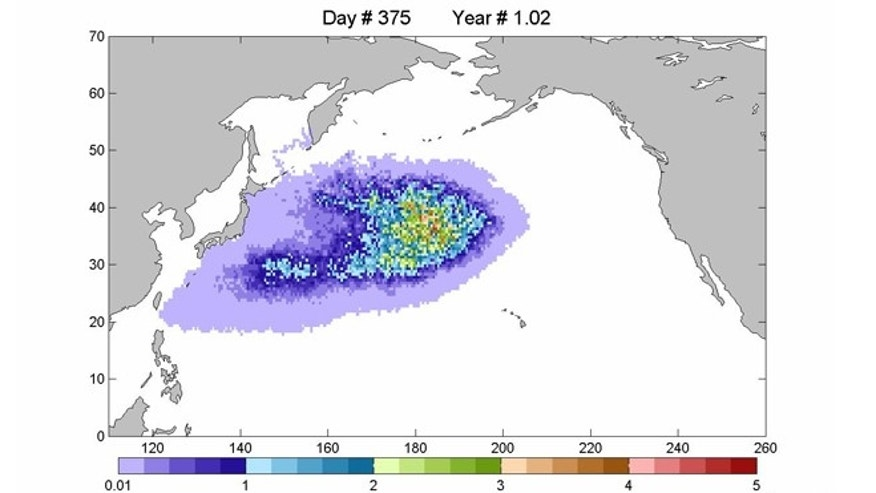 A massive floating patch of debris following the March 11, 2011, tsunami that struck Japan is floating across the Pacific Ocean, and should begin piling up on U.S. shores in increasing amounts.