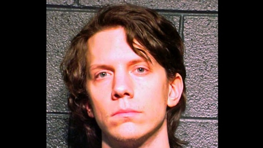 Jeremy Hammond, 27, seen in a 2012 appearance in federal court, where he was accused of participating in an international computer-hacking ring. On May 28, 2013, he plead guilty to the charges.