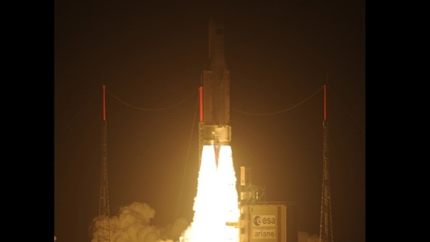 March 23, 2012: Ariane 5 VA205 with the third Automated Transfer Vehicle Edoardo Amaldi lifted off from Europe's Spaceport in French Guiana.