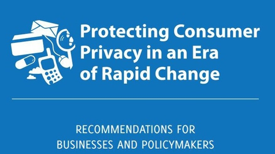 "March 26, 2012: The cover of a new FTC report urging fresh regulations to ensure consumer privacy online, including the creation of a ""Do Not Track"" registry for the advertising industry."