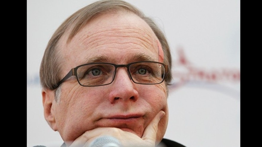Dec. 13, 2011: Microsoft co-founder Paul Allen listens during a a news conference in Seattle.