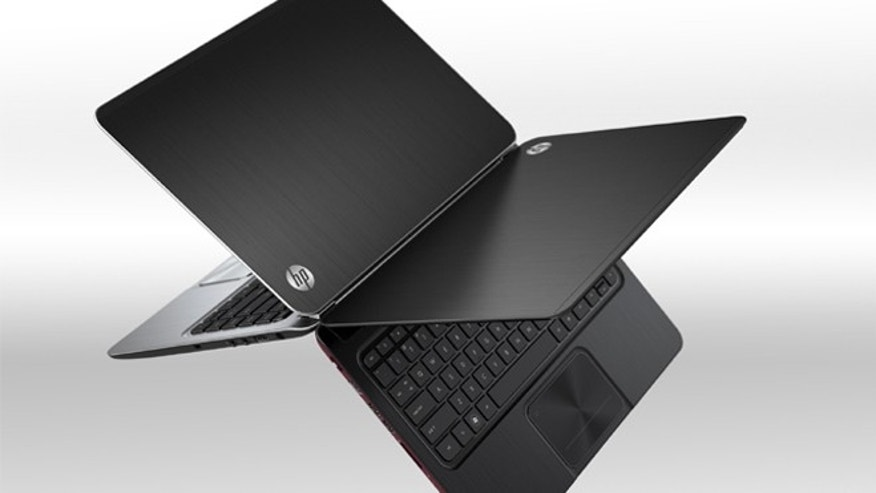 One of HP's new lineup of ultrabooks -- high-performance laptops with relatively low prices.