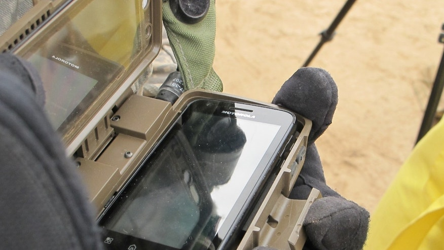 May 09, 2012: One U.S. Army commander says he's much more mobile with the light weight of the phones and batteries, compared to older, heavier radios.