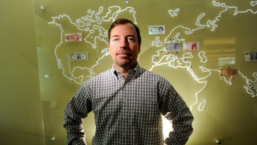 In this Nov. 24, 2010 photo, then PayPal president Scott Thompson, who in January 2012 was named CEO of Yahoo Inc., poses for photos at PayPal's offices in San Jose, Calif.