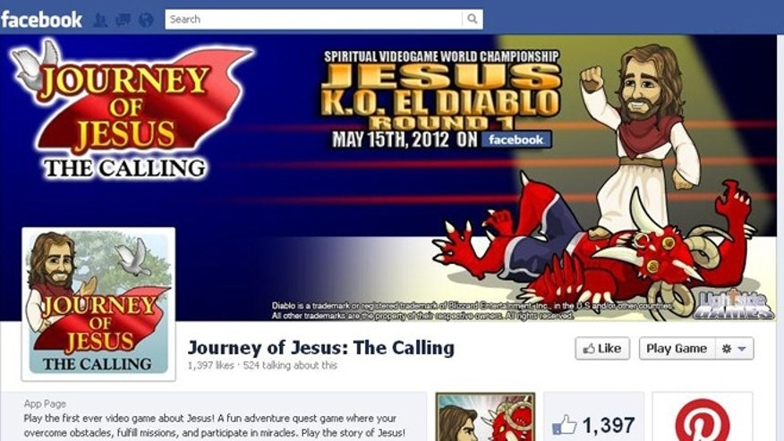 "May 15, 2012: The Facebook game ""Journey of Jesus"" launched Tuesday -- the same day as Blizzard's hotly anticipated game about demonic forces, ""Diablo III."""