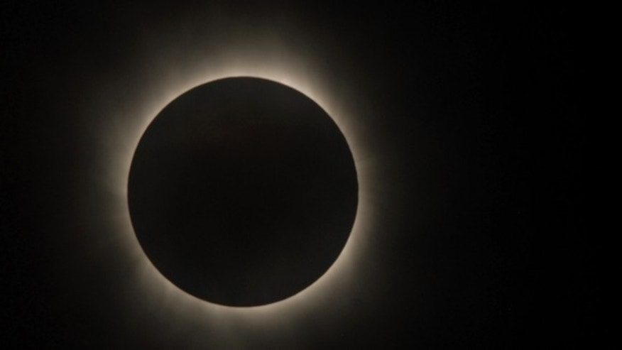July 22, 2009: A total eclipse of the Sun was visible from within a narrow corridor that traverses half of Earth, captured by a NASA satellite.