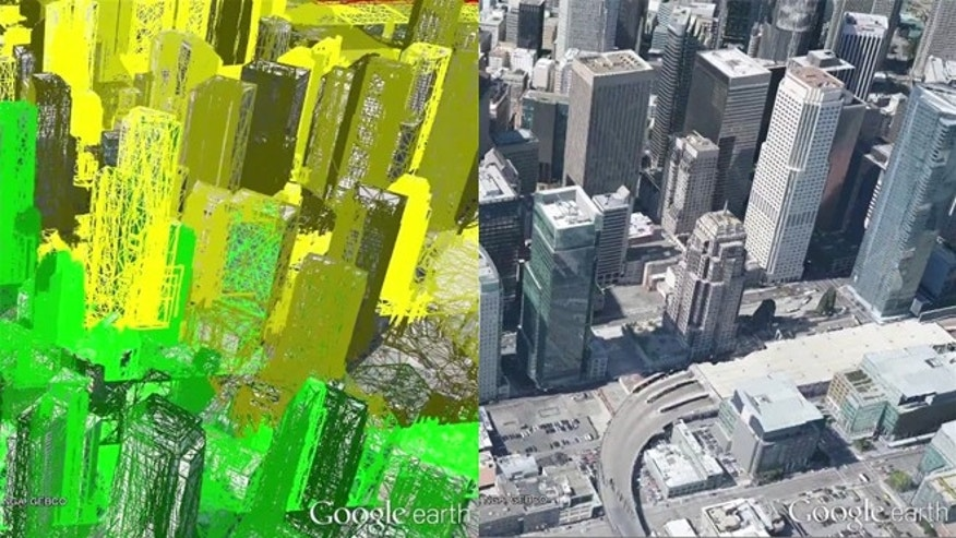 Google Earth gets real-time 3-D rendering.