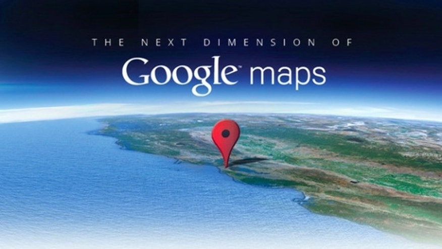 The invitation Google sent out last week for the company's Maps event today.