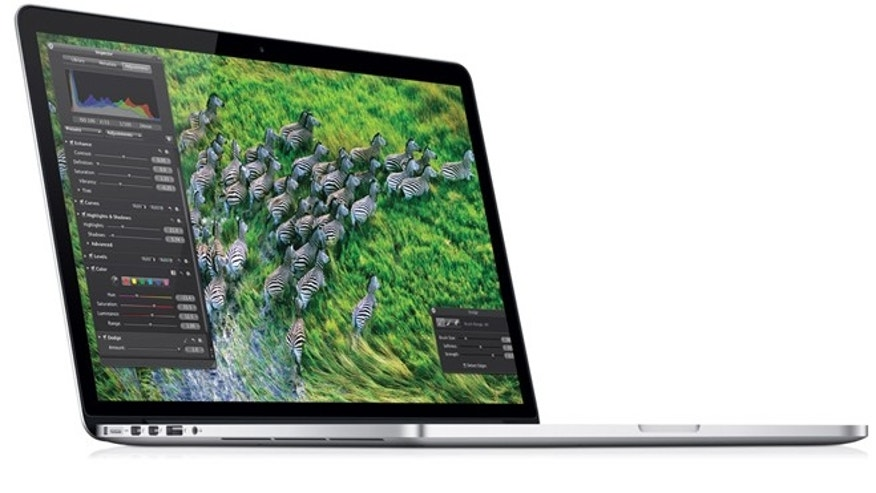 The new MacBook Pro with Retina display starts at $2,199 -- and runs as much as $3,700.