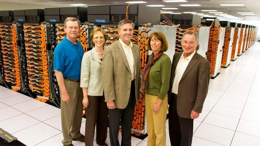 June 18, 2012: Sequoia, an IBM supercomputer at Lawrence Livermore National Laboratory in California, was named No. 1 on the TOP500, a list of the world's fastest supercomputers.
