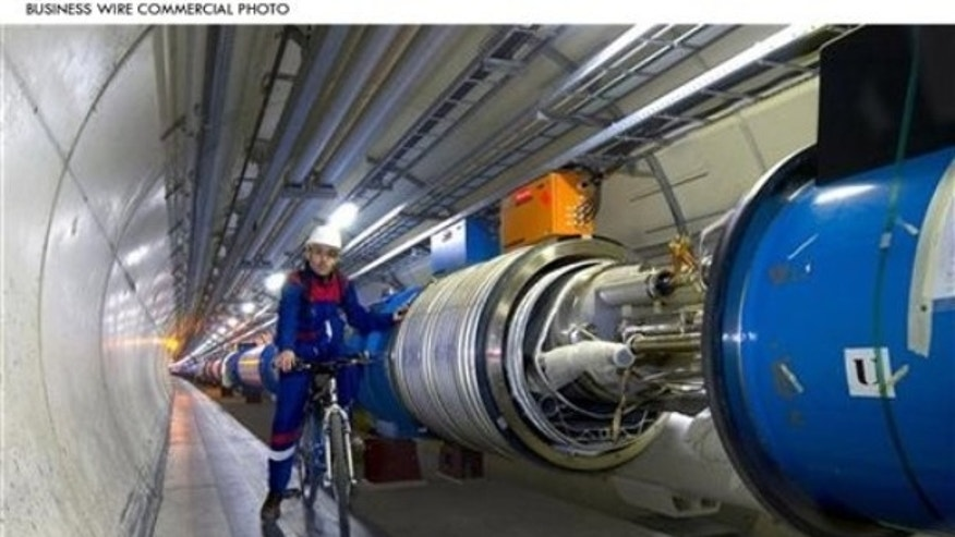 CERN's Large Hadron Collider (LHC), the world's largest and most powerful particle collider, is scheduled to restart in fall 2009, and more than 100,000 Analog Devices data converters will play a key role in helping scientists discover what the universe is made of and how it works by studying the debris created by the collision of sub-atomic particles. (Photo: Business Wire)
