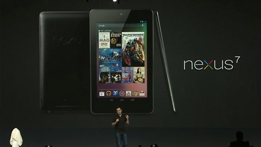June 27, 2012: Hugo Barra, director of product management for Android, shows off the new Nexus 7 tablet at the company's Google I/O conference.