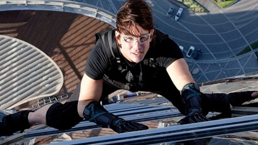 "Tom Cruise scaled the world's tallest building in the movie ""Mission Impossible: Ghost Protocol."" New technologies seeks to make that fiction a reality."