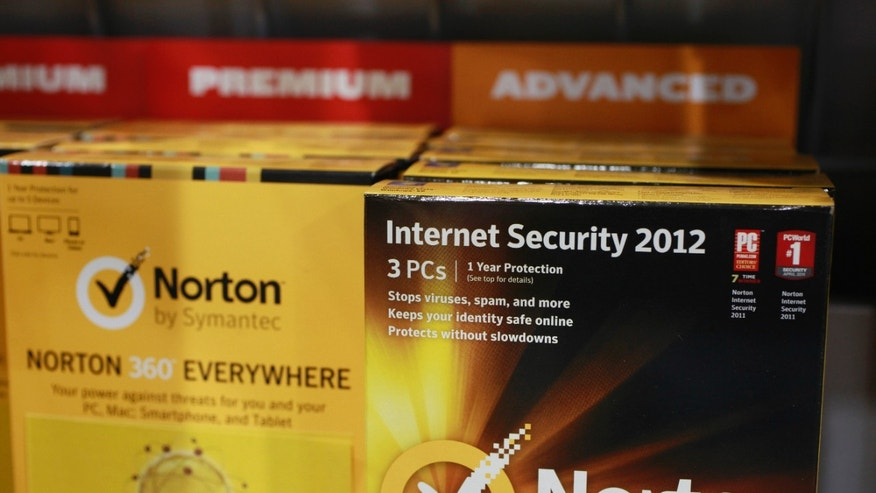 July 6, 2012: Norton's Internet Security 2012 software for computer security on display at Best Buy in Mountain View, Calif.