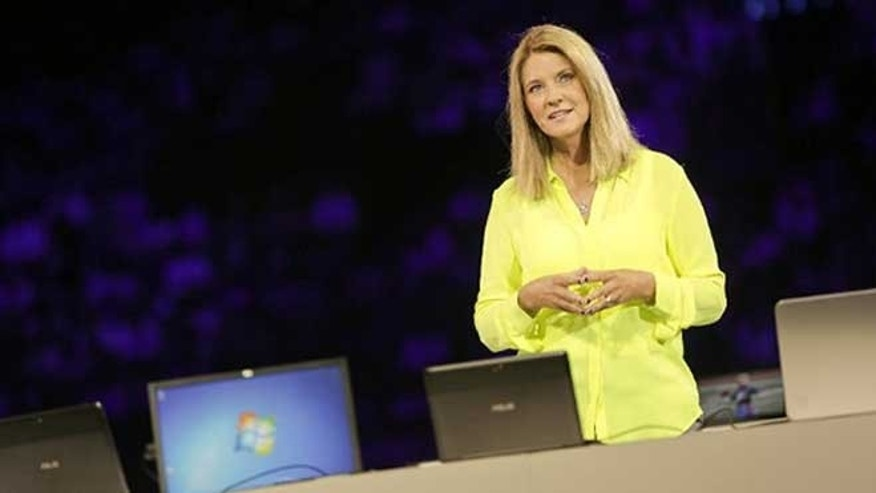 July 9, 2012: Tami Reller, corporate vice president and CFO, speaks at the Microsoft Worldwide Partner Conference.