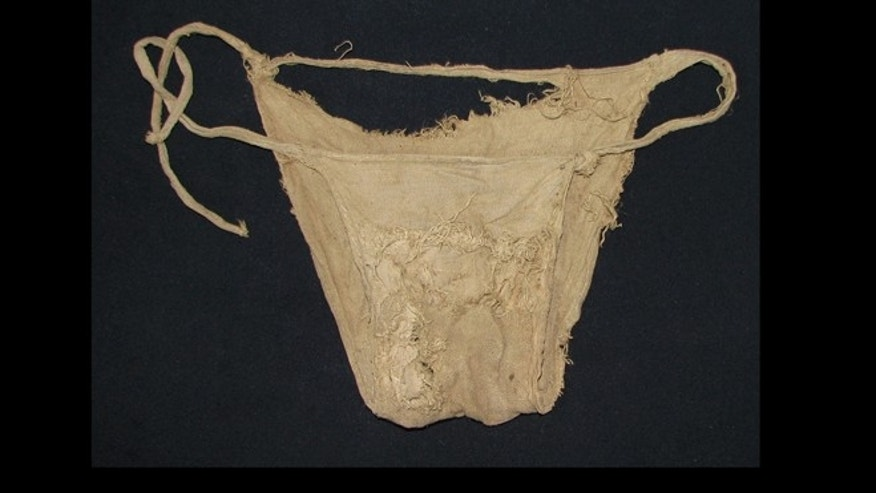 Also found at Lemberg Castle in Tyrol and formally announced Wednesday was a linen undergarment that looks very much like a pair of panties.