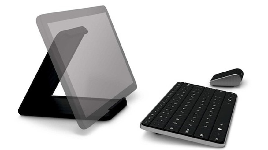 Microsoft's Wedge keyboard and mouse combo.